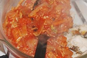 Рыба заливная в томате - фото шаг 7