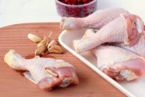 Курица в клюквенно-медовом соусе - фото шаг 6