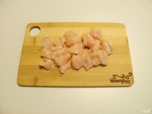 Жульен в тарталетках с грибами и курицей - фото шаг 2
