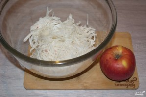 Салат из редьки - фото шаг 3
