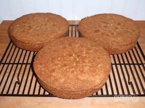 Кремовый торт - фото шаг 1