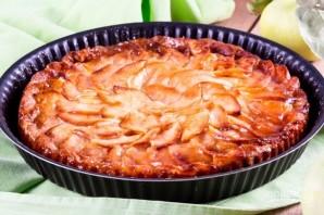 Пирог с творогом и яблоками - фото шаг 9
