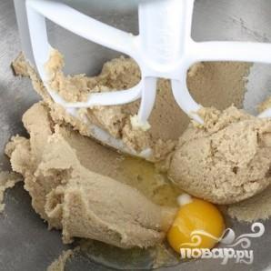 Печенье с овсяными хлопьями и шоколадом - фото шаг 2