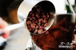Шоколадные пирожные в сливочной глазури - фото шаг 3