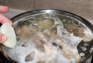 Диетический куриный суп - фото шаг 2