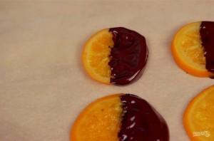 Апельсины в шоколаде - фото шаг 4