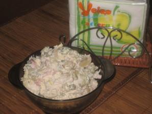 Салат грибной с ветчиной - фото шаг 8