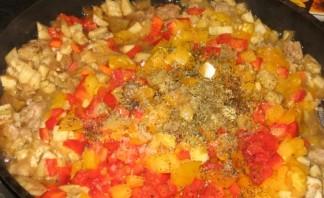 Овощные лодочки из баклажанов  - фото шаг 6
