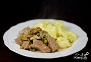 Мясо с лисичками - фото шаг 12