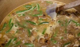Грибной суп из шампиньонов со сливками - фото шаг 4