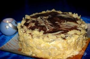 "Торт ""Мраморный"" - фото шаг 9"