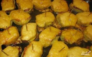 Лодочки из картофеля - фото шаг 4