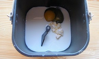 Бездрожжевой хлеб в хлебопечке (простой рецепт) - фото шаг 2