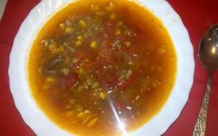 Фасолевый суп без картошки - фото шаг 5