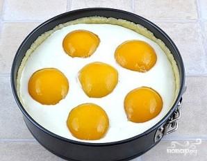 Творожный пирог с персиками - фото шаг 7