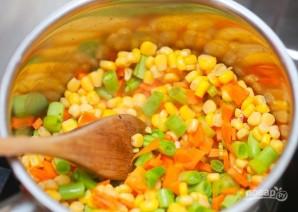 Вкусный овощной супчик - фото шаг 7