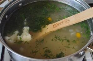Суп из цветной капусты на мясном бульоне - фото шаг 5