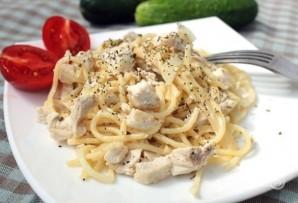 Спагетти с курицей - фото шаг 10
