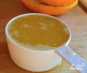 Маффины с апельсином - фото шаг 2