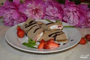 Шоколадные блинчики с мороженым - фото шаг 5