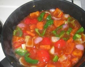 Пангасиус в кисло-сладком соусе - фото шаг 8
