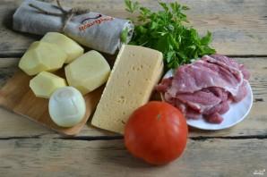 Запеканка картофельная с мясом в духовке - фото шаг 1