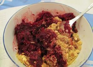 Салат с гранатом и мясом - фото шаг 9