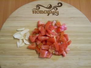 Макароны с помидорами - фото шаг 2