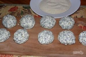 Маковые сырники - фото шаг 3