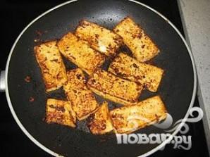 Жареный тофу - фото шаг 10