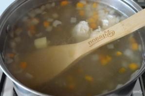 Суп из цветной капусты на мясном бульоне - фото шаг 3