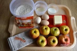 Пирог с яблоками - фото шаг 1