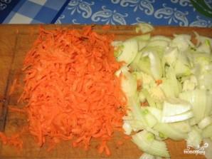 Картофель со свининой и грибами - фото шаг 2
