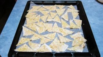 Домашние чипсы из лаваша - фото шаг 6