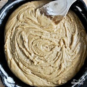 Шоколадный пирог в сковороде - фото шаг 4