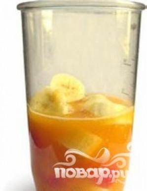 Витаминный напиток из апельсина и миндаля - фото шаг 4