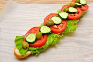 "Cэндвич ""как в Сабвей"" - фото шаг 3"