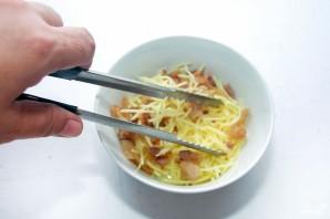 Салат со шпинатом и сыром - фото шаг 4