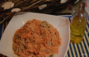 Салат с морковкой по-корейски - фото шаг 5