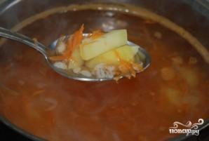 Грибной суп с перловкой - фото шаг 8