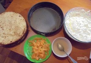 Бисквитный торт с кремом из сгущенки - фото шаг 5