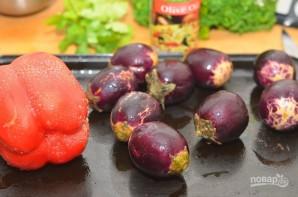 Салат из баклажанов с зеленью - фото шаг 1