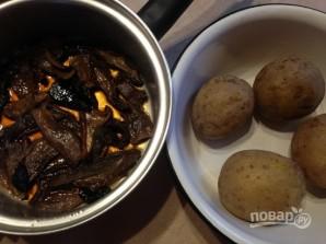 Картофельные тефтели с грибами - фото шаг 1