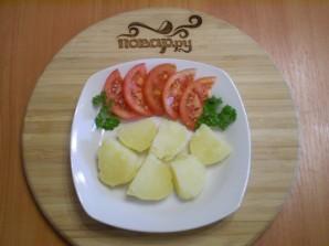 Картофель под сырным соусом - фото шаг 8