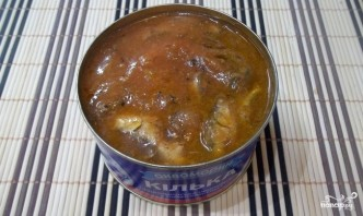 Рыбный суп из кильки в томатном соусе - фото шаг 4