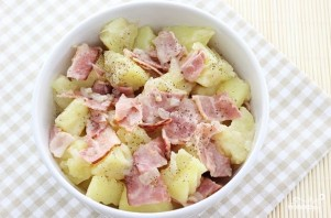 Салат из картофеля без майонеза - фото шаг 7