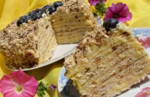 Сырный торт на сковороде - фото шаг 5