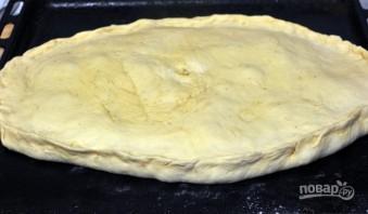Пирог на кефире с капустой - фото шаг 8
