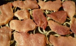 Мясо по-капитански в духовке - фото шаг 6
