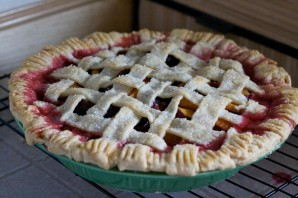 Персиковый пирог на скорую руку - фото шаг 5